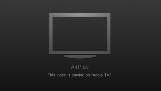 iPad streaming gay porn to your Apple TV
