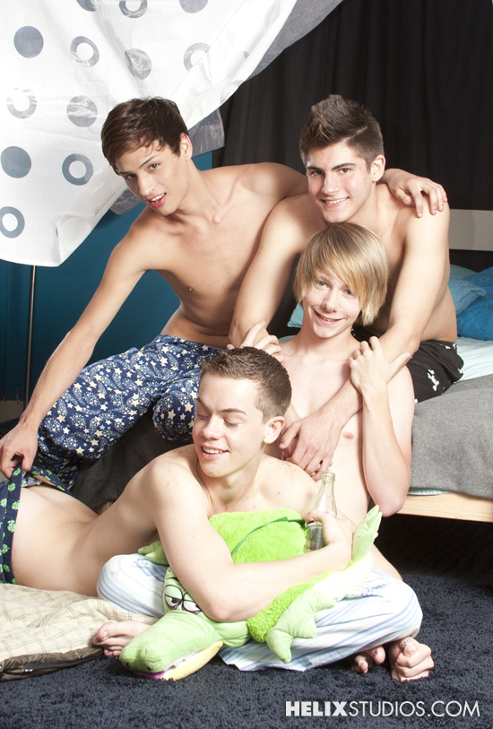 Derrick Porter stars in Slumber Party Boys