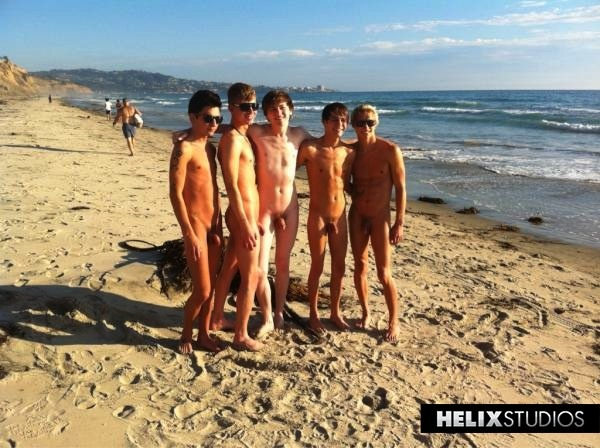 boys at nude beach