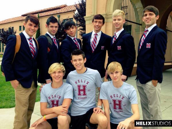 The new Helix Academy boys