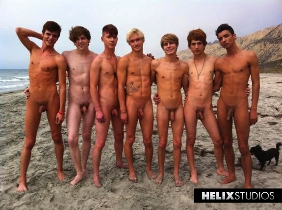 Naked Twinks at the Beach