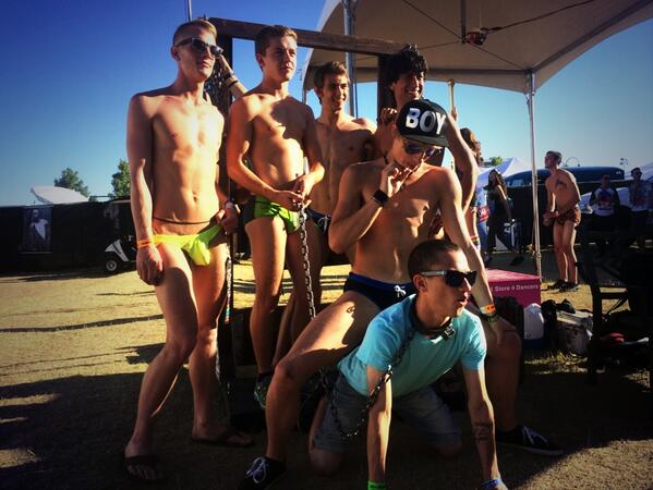 Helix Boys at Pride