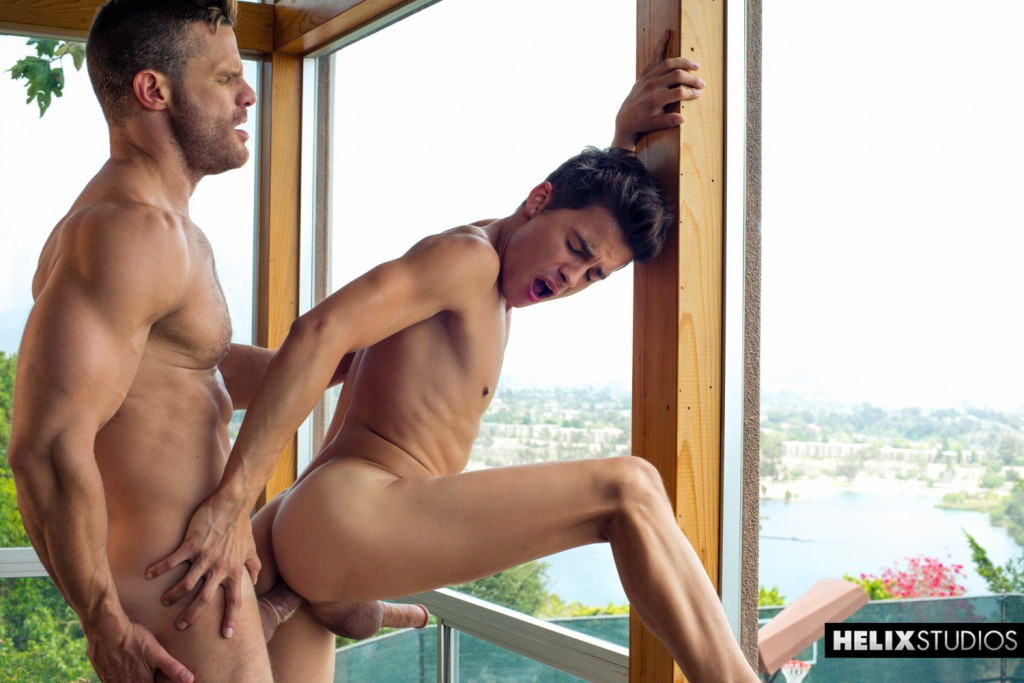 Landon Conrad and Andy Taylor